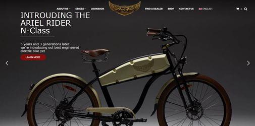 ariel rider e bikes fahrradhersteller marken. Black Bedroom Furniture Sets. Home Design Ideas