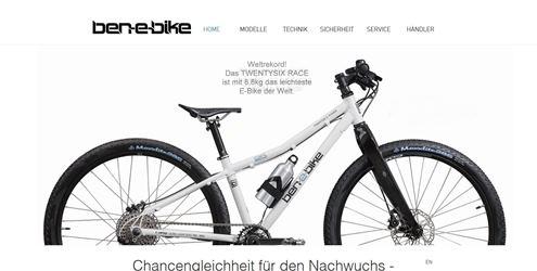 ben e bike fahrradhersteller marken verzeichnis liste. Black Bedroom Furniture Sets. Home Design Ideas