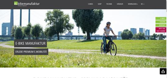 E-BIKE MANUFAKTUR