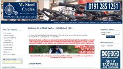 M STEEL CYCLES
