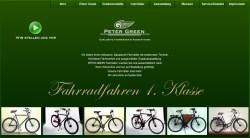 green fahrräder