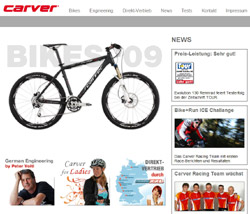 carver fahrradhersteller marken verzeichnis liste f r. Black Bedroom Furniture Sets. Home Design Ideas
